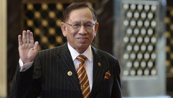 Malaysian Senate President Abu Zahar Ujang. File photo - Sputnik International