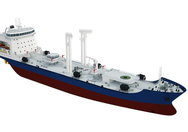 Sea tanker  Academic Pashin