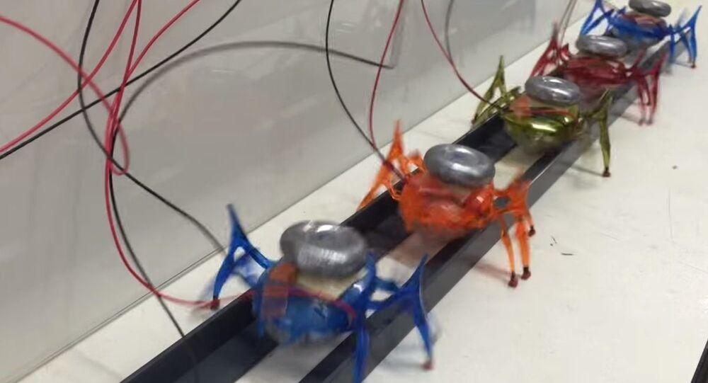μTug microrobots