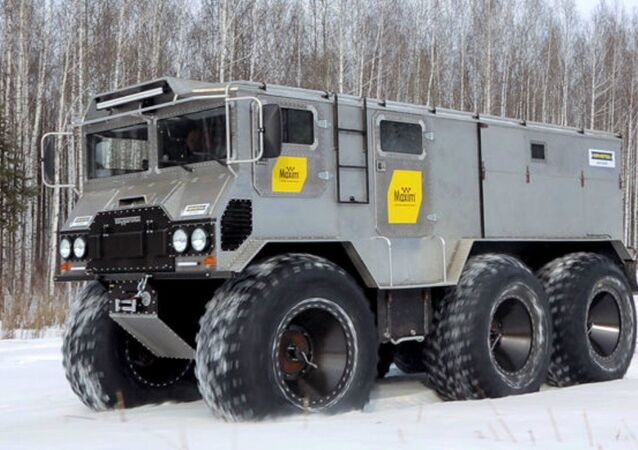 Burlak off-road military vehicle