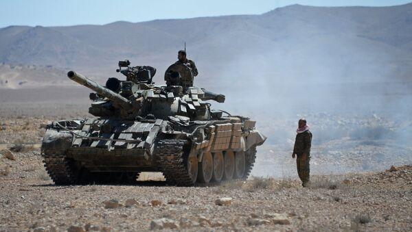 Syrian army servicemen - Sputnik International