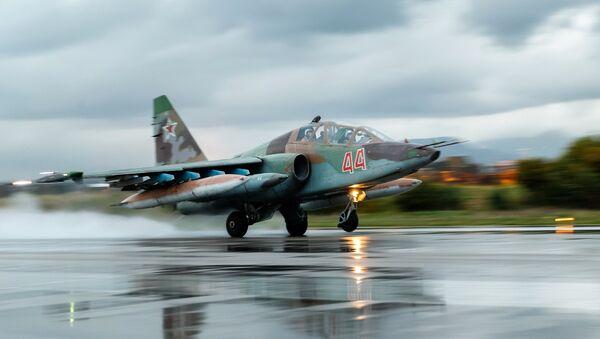 Russian Aerospace Forces aircraft leave Hmeimim airbase in Syria - Sputnik International