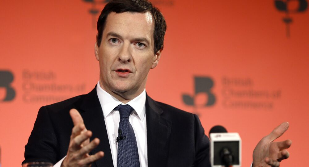 Britain's Chancellor George Osborne speaks during the British Chambers of Commerce annual conference in London (File)
