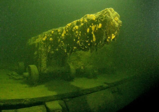 Initil findings indicate that the vessel is very well-preserved and the wooden structure is in surprisingly sound condition. All of the canons were in their original positions on the gun deck