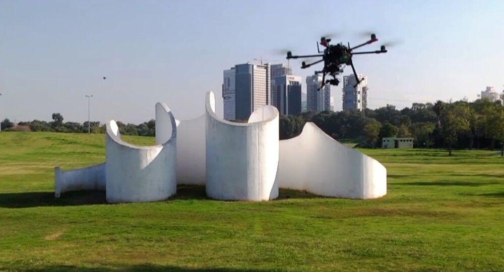 Self-flying drone