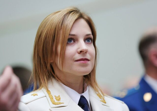 Prosecutor of the Republic of Crimea Natalya Poklonskaya at the function to celebrate Russian Prosecutor General's Office Workers' Day in Simferopol