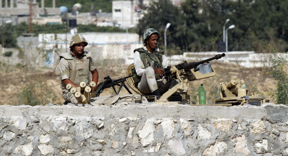 Egyptian soldiers, Rafah, Egypt (file photo)