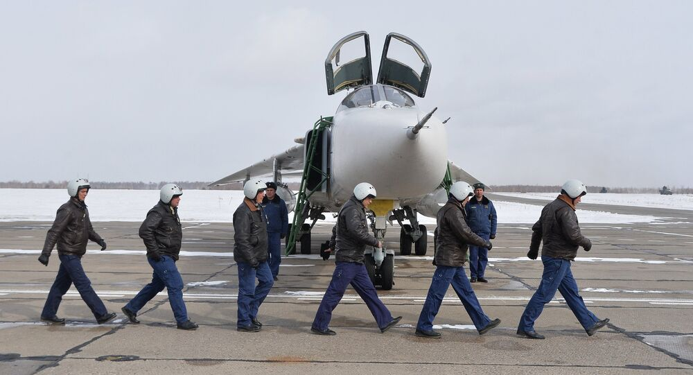 Three Su-24M bombers return to Chelyabinsk Region from Khmeimim Air Base