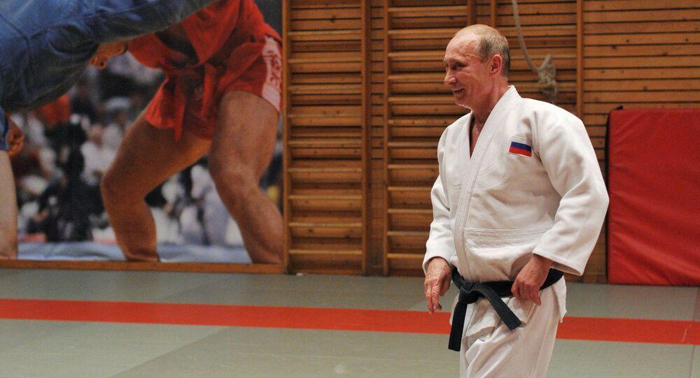 Experienced Judoka Putin Surprises International Politics Sputnik International