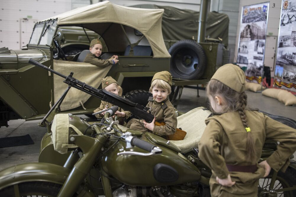 Motors of War: Unique Collection of WWII Vehicles in Moscow