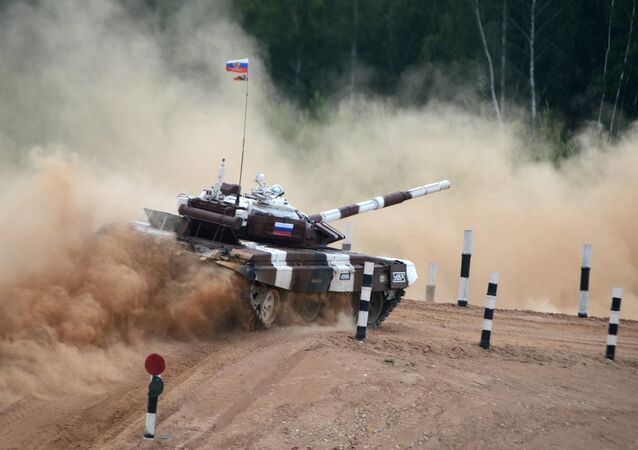 Tank Biathlon World Championships (File)