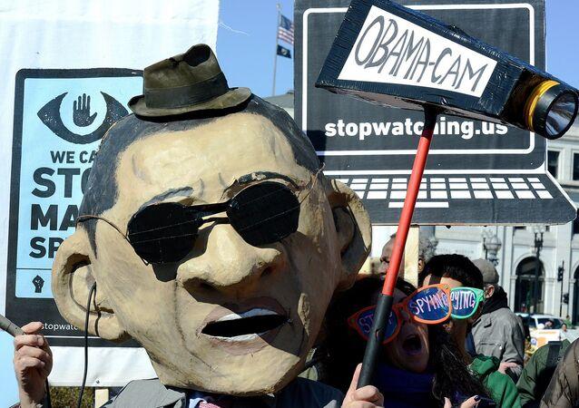 Rally against mass surveillance