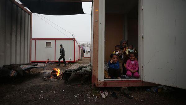 Refugee camp in Bulgaria. File photo - Sputnik International