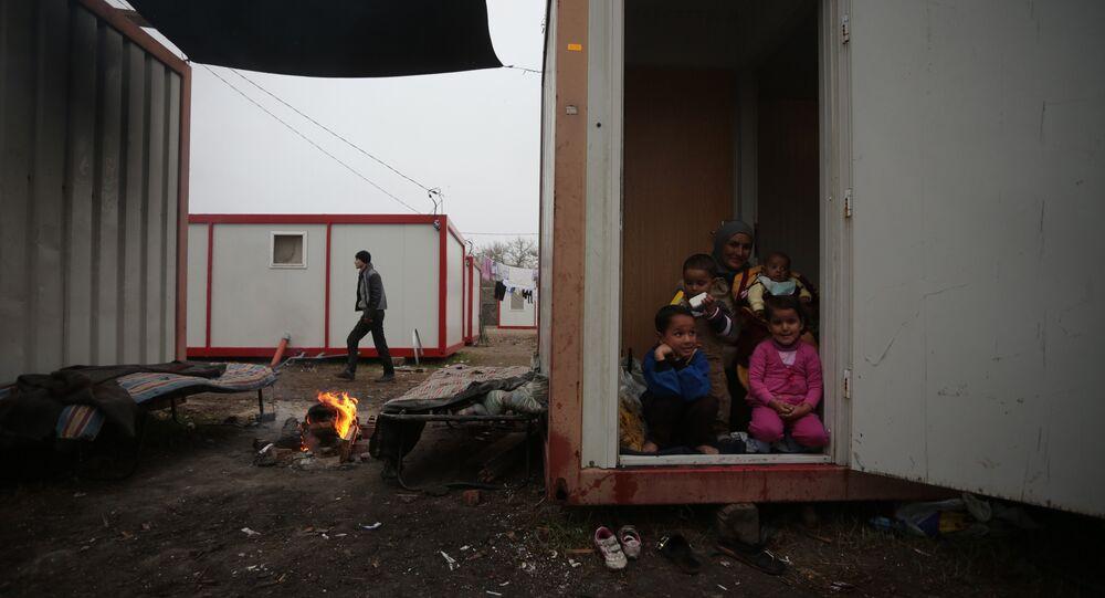 Refugee camp in Bulgaria. File photo