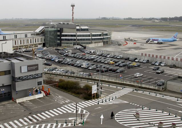 General view of Zaventem's international airport near Brussels (File)
