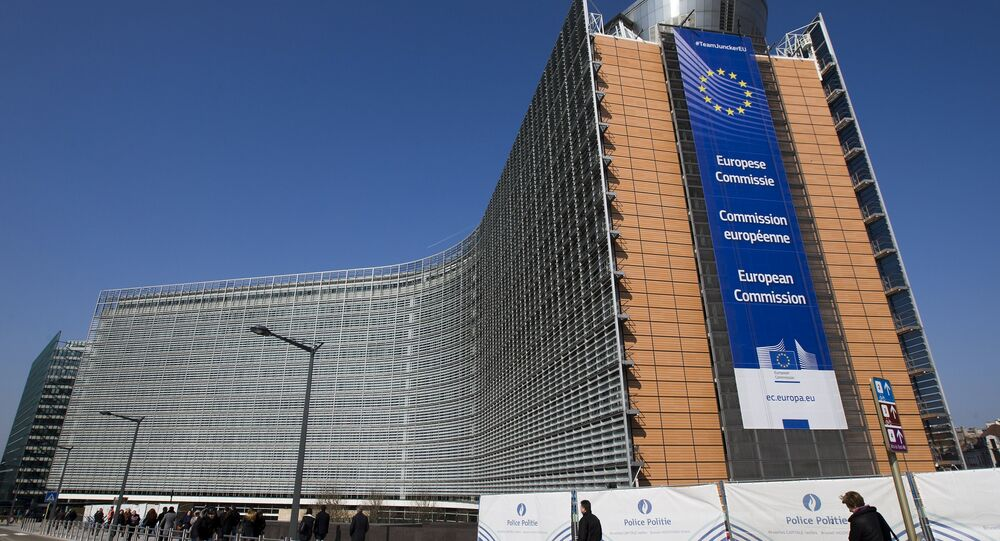 The European Commission headquarters is seen in Brussels, Belgium in this March 17, 2016 file photo