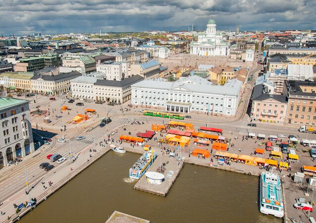 A scenic view of Helsinki, Finland