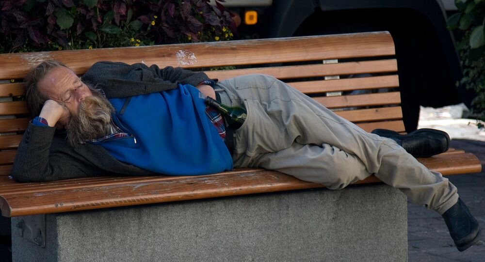 Homeless in Helsinki
