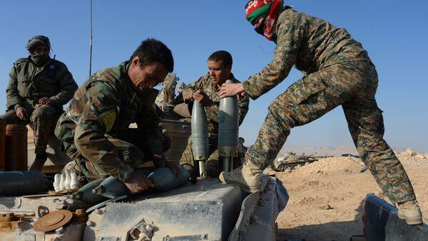 Syrian army and self-defense forces approach Palmyra - Sputnik International