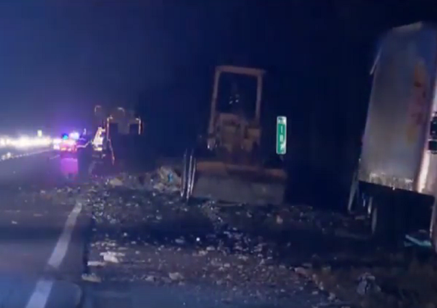 World's Tastiest Accident? Collision Spreads Beer and Chips All Over Florida Highway
