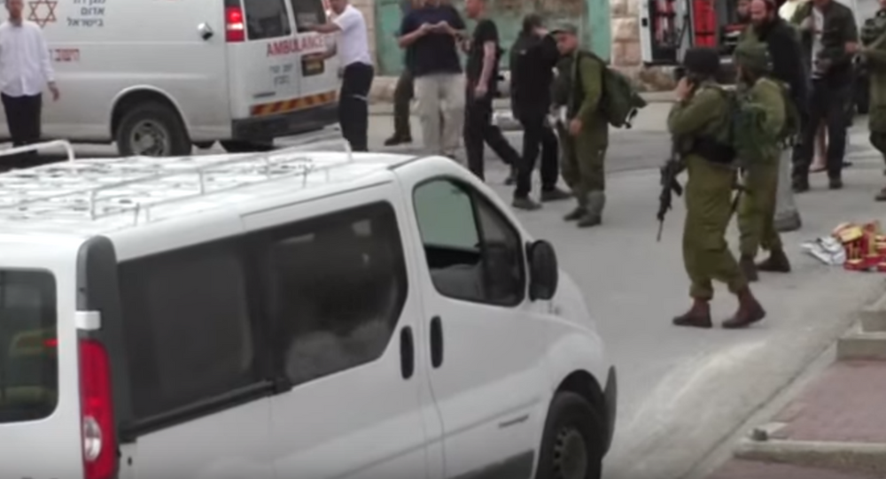 Footage released by B'Tselem
