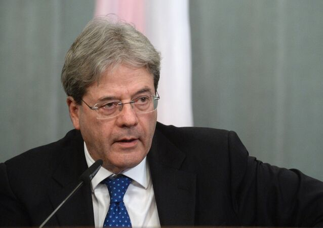Russian Foreign Minister Lavrov meets Italian FM Gentilone
