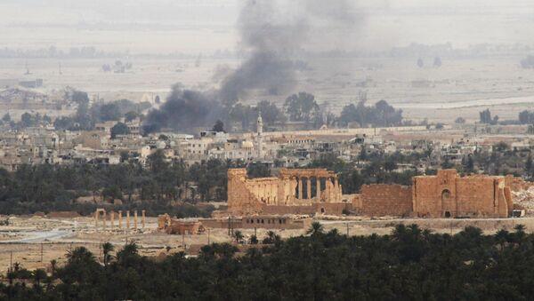 Syrian army and militias fight for Palmyra - Sputnik International