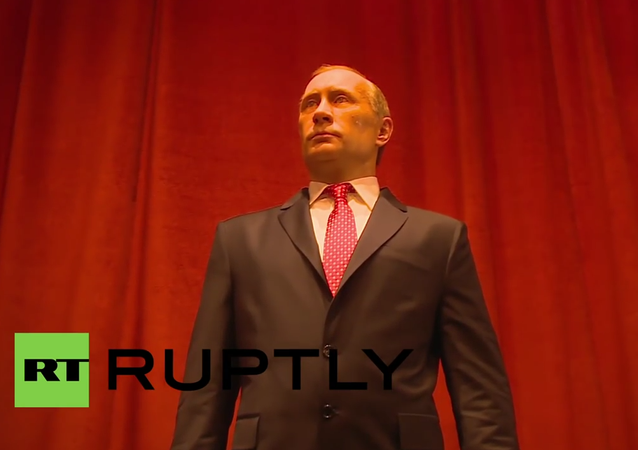 Serbia: Vladimir Putin finds a new home in Jagodina's wax museum