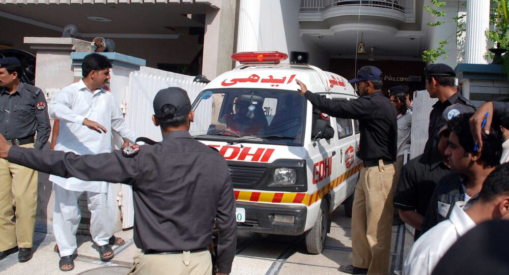 Ambulance in Lahore
