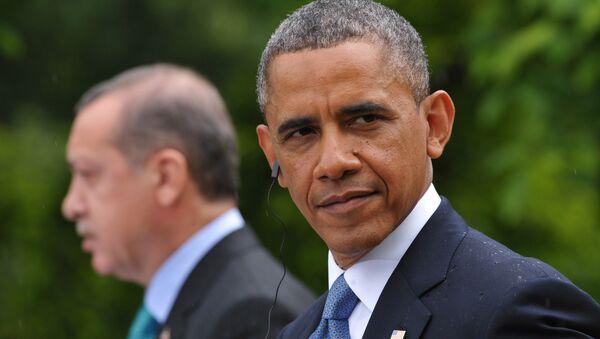Barack Obama and Recep Tayyip Erdogan - Sputnik International