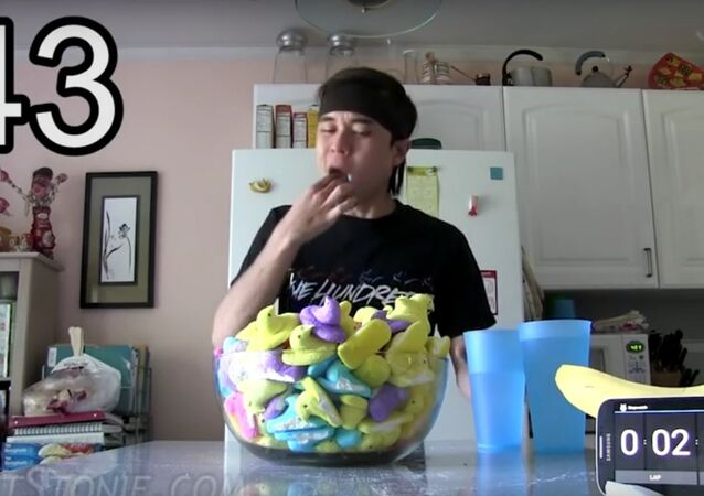 Man eats 200 peeps in one sitting