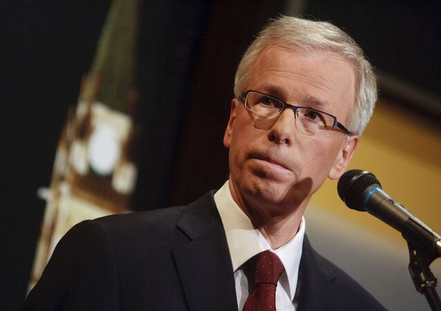 Canada's Foreign Minister Stephane Dion (File)
