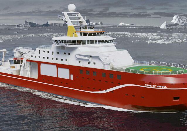 UK's next world-class polar research ship