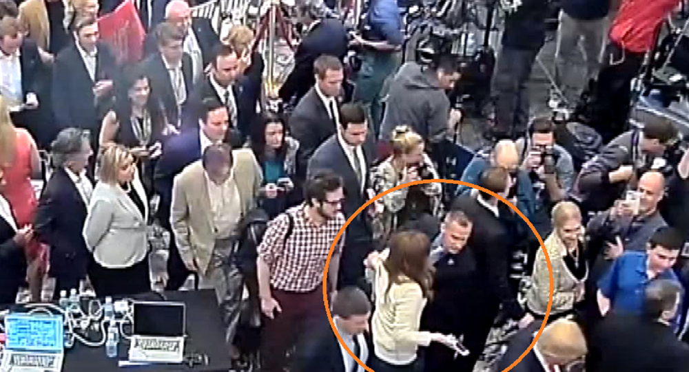 Jupiter police release video showing Corey Lewandowski grab Michelle Fields