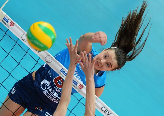 CEV Women's Champions League. Dynamo Moscow vs. Fenerbahce