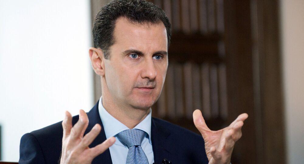 Syrian President Bashar al-Assad's interview with Rossiya Segodnya Director General Dmitry Kiselev
