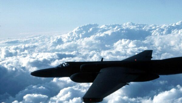 This undated US Air Force photo shows a U-2 spy plane which is expected to be used by the US in the war against terrorism - Sputnik International