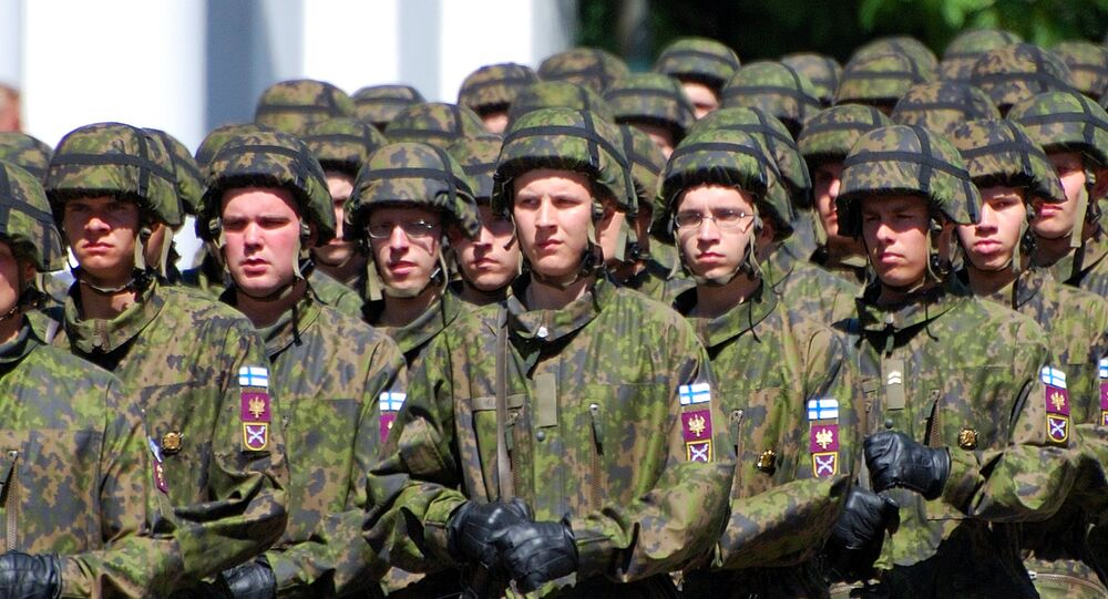 Soldiers of Finnish army