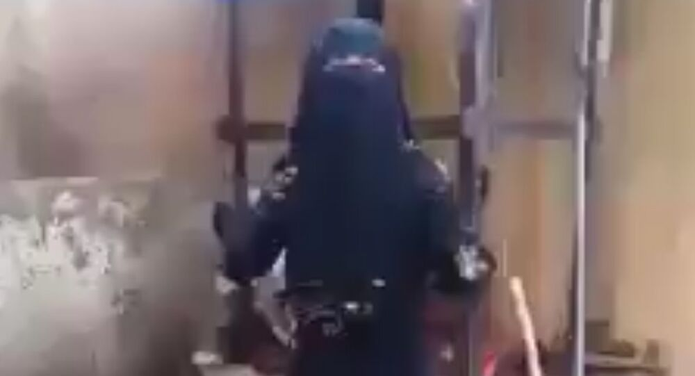 Daesh terrorists in Fallujah are searching for an Iraqi woman who filmed a two minute impassioned plea for help to defeat the terrorist group
