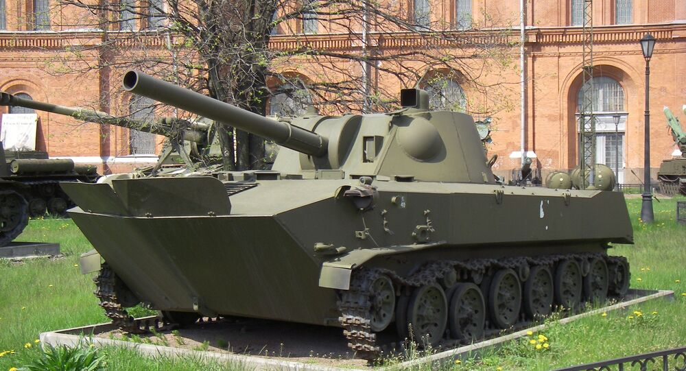 2S9 Nona-S self-propelled mortar system