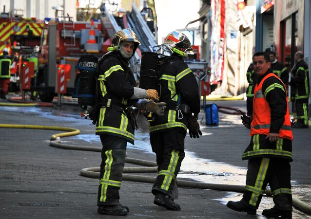 French firefighters