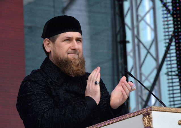 Celebrations of Day of Chechen Republic's Constitution in Grozny