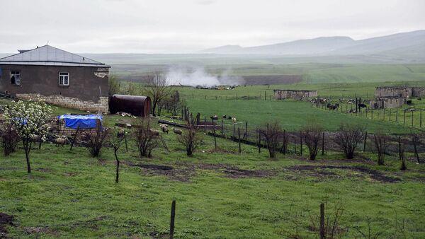 The Nagorno-Karabakh conflict zone. - Sputnik International