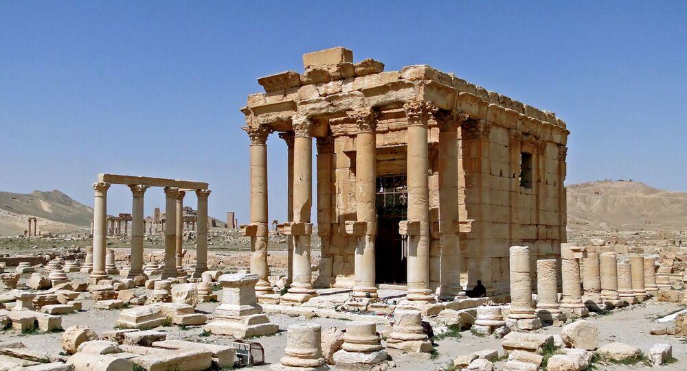 Temple of Baal-Shamin in Palmyra, Syria