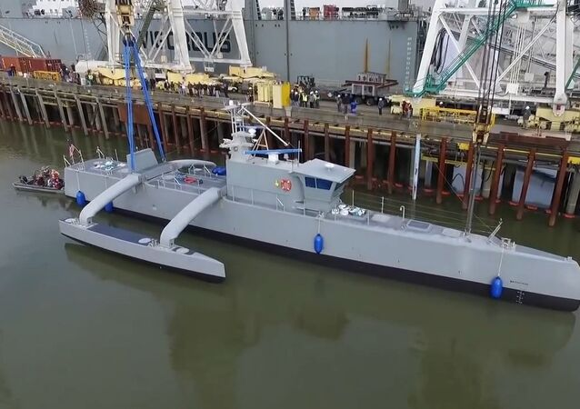 Anti-Submarine Warfare Continuous Trail Unmanned Vessel Speed Testing