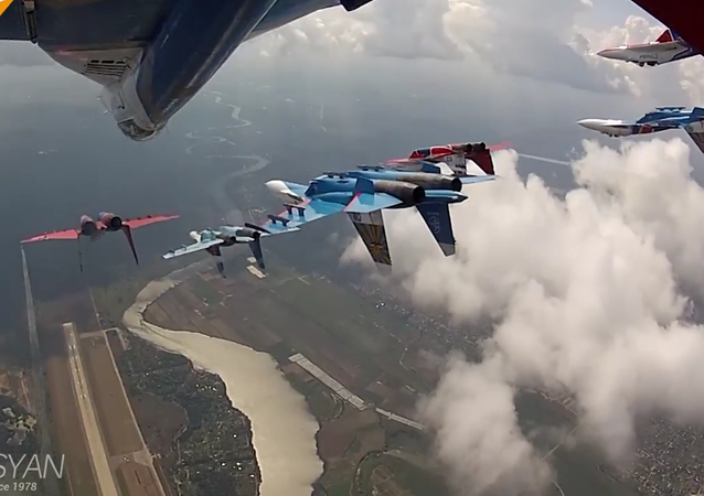 Legendary Russian Knigts: 25 Years of Aerobatic Excellence
