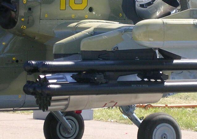 Vikhr missiles