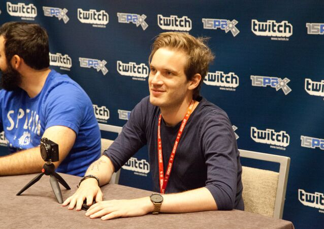 PewDiePie at PAX 2015