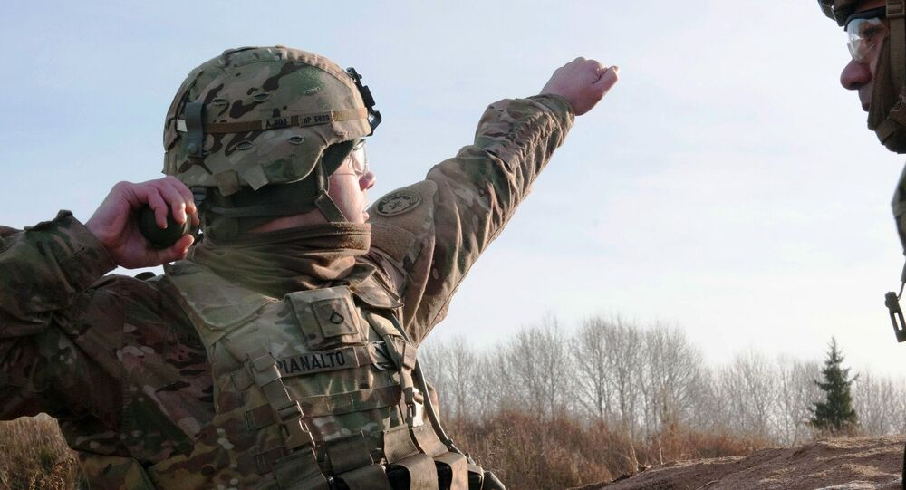 US soldiers train in Estonia