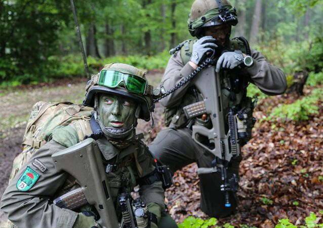 Austrian forces at Combined Resolve II